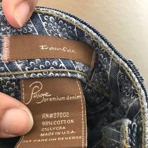 PAIGE Jeans - Paige- Fairfax Jeans size 24